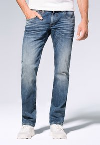 Camp David - Straight leg jeans - medium blue used - 0