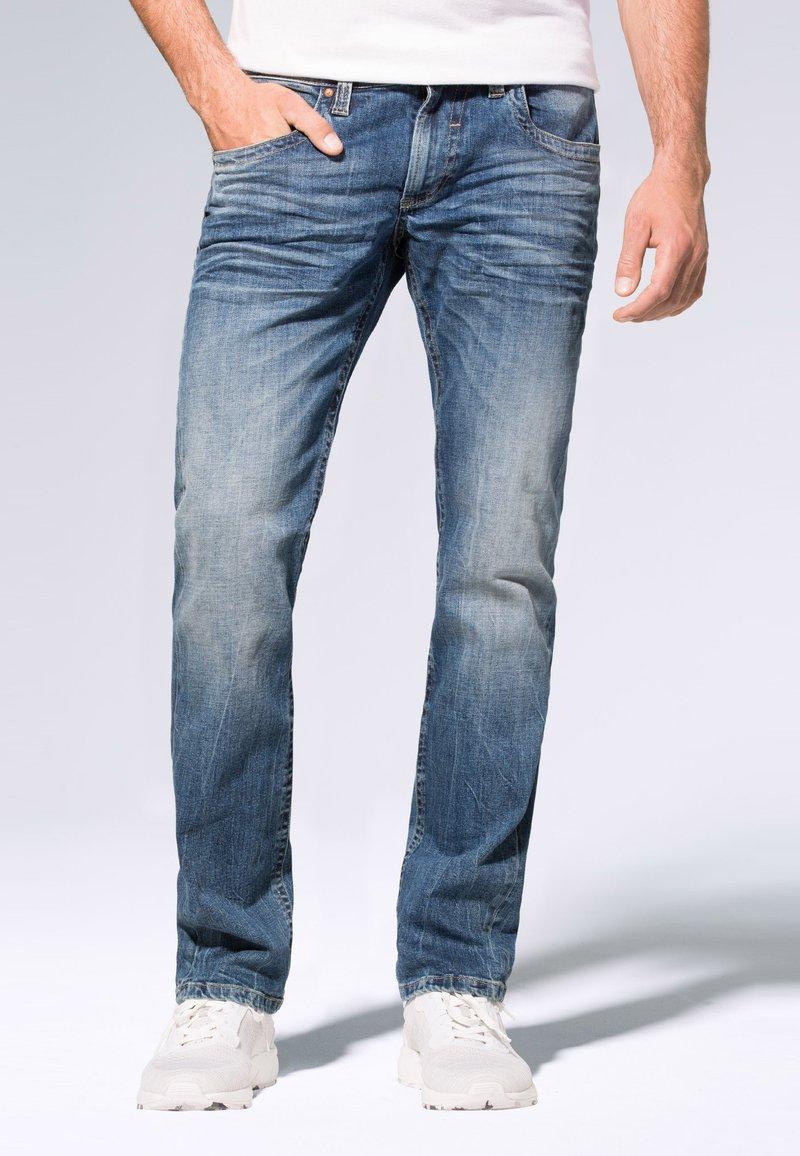Camp David - Straight leg jeans - medium blue used