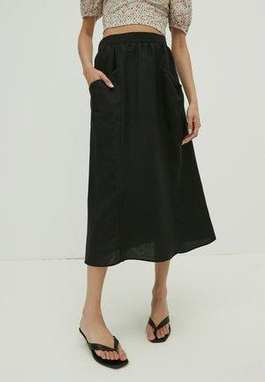 MORGAN - A-line skirt - schwarz