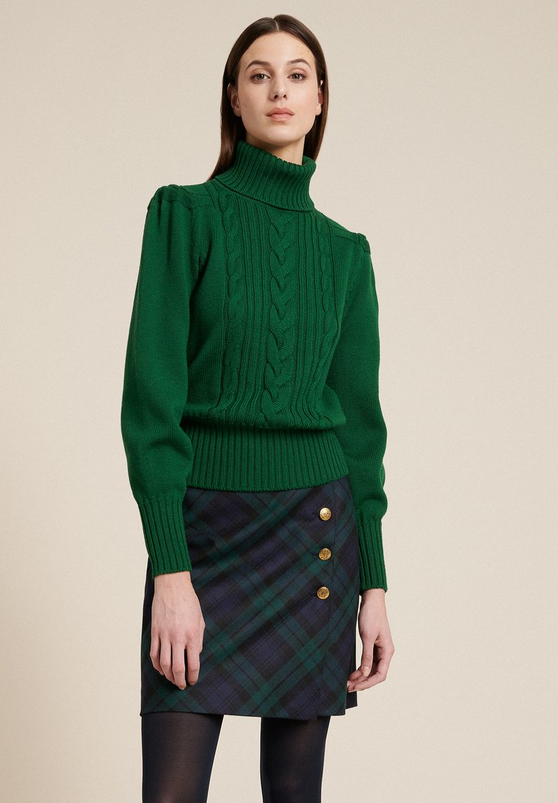 Luisa Spagnoli - MAGDALENA - Stickad tröja - verde bottiglia