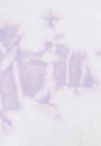 Even&Odd - Cropped tie dye hoodie - Sweat à capuche - white - 2