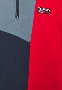 Tommy Jeans - RETRO COLORBLOCK MOCK NECK - Sweatshirt - twilight navy / multi - 3