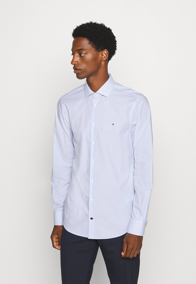 Tommy Hilfiger Tailored - STRIPE CLASSIC SLIM - Formal shirt - blue