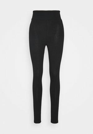 BASIC HIGHWAIST - Leggings - black