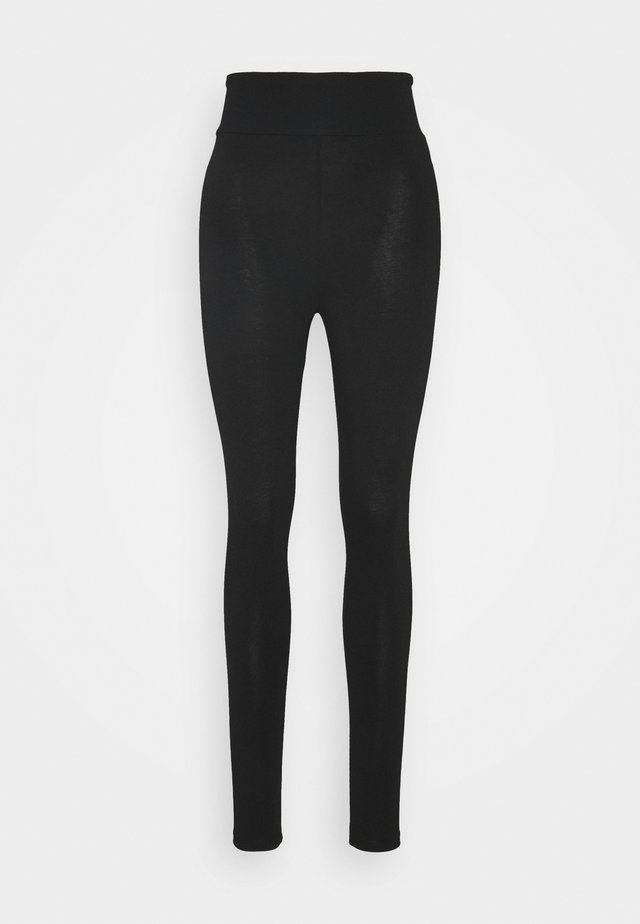 BASIC HIGHWAIST - Leggings - black