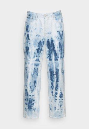 JJIEDDIE JJORIGINAL - Straight leg -farkut - blue denim