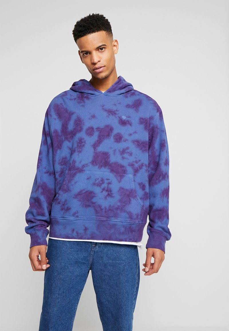 Diamond Supply Co. - WASHED OVERDYED HOODIE - Hoodie - navy