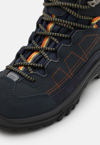 Lowa - APPROACH GTX MID JUNIOR UNISEX - Hiking shoes - navy - 5