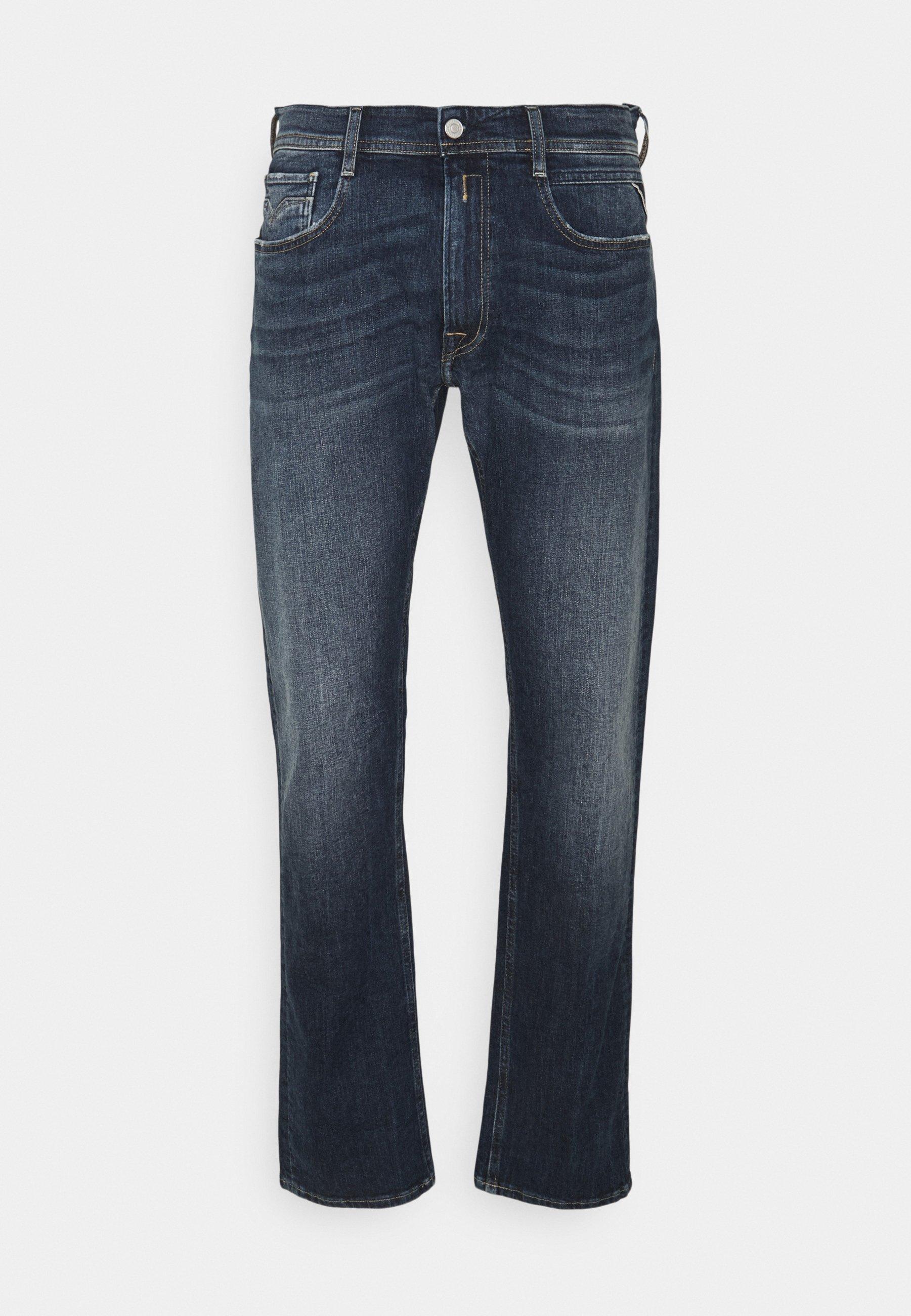 Uomo ROCCO BIO - Jeans a sigaretta
