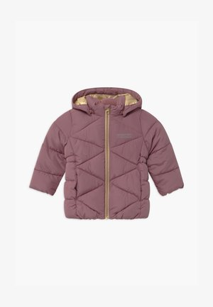 NMFMILTON PUFFER CAMP - Winter coat - wistful mauve