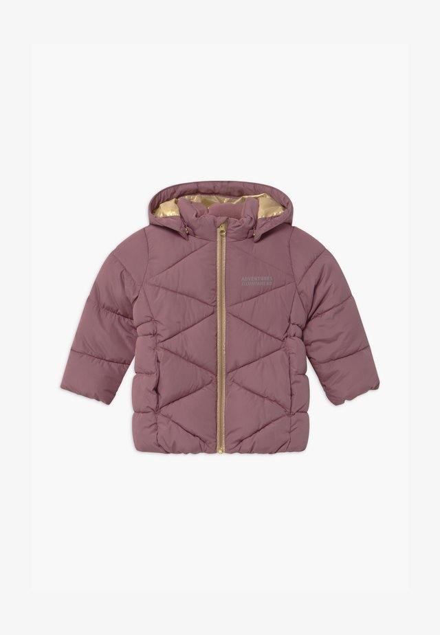 NMFMILTON PUFFER CAMP - Winter coat - wistful mauve