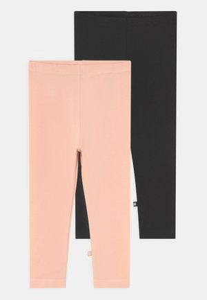 NETTE 2 PACK - Leggings - Trousers - black/rose