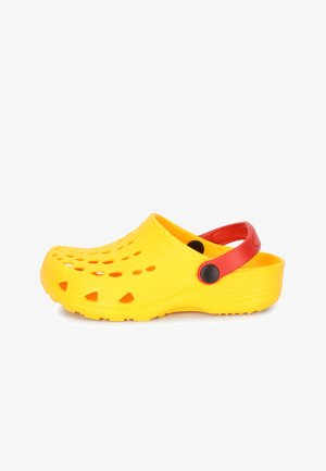 Sabots - yellow/red