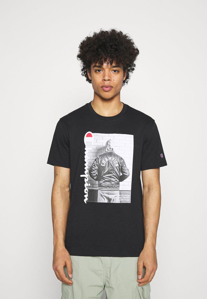 Champion Rochester - CREWNECK - Print T-shirt - black