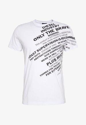 T-DIEGO-S3 - Print T-shirt - white
