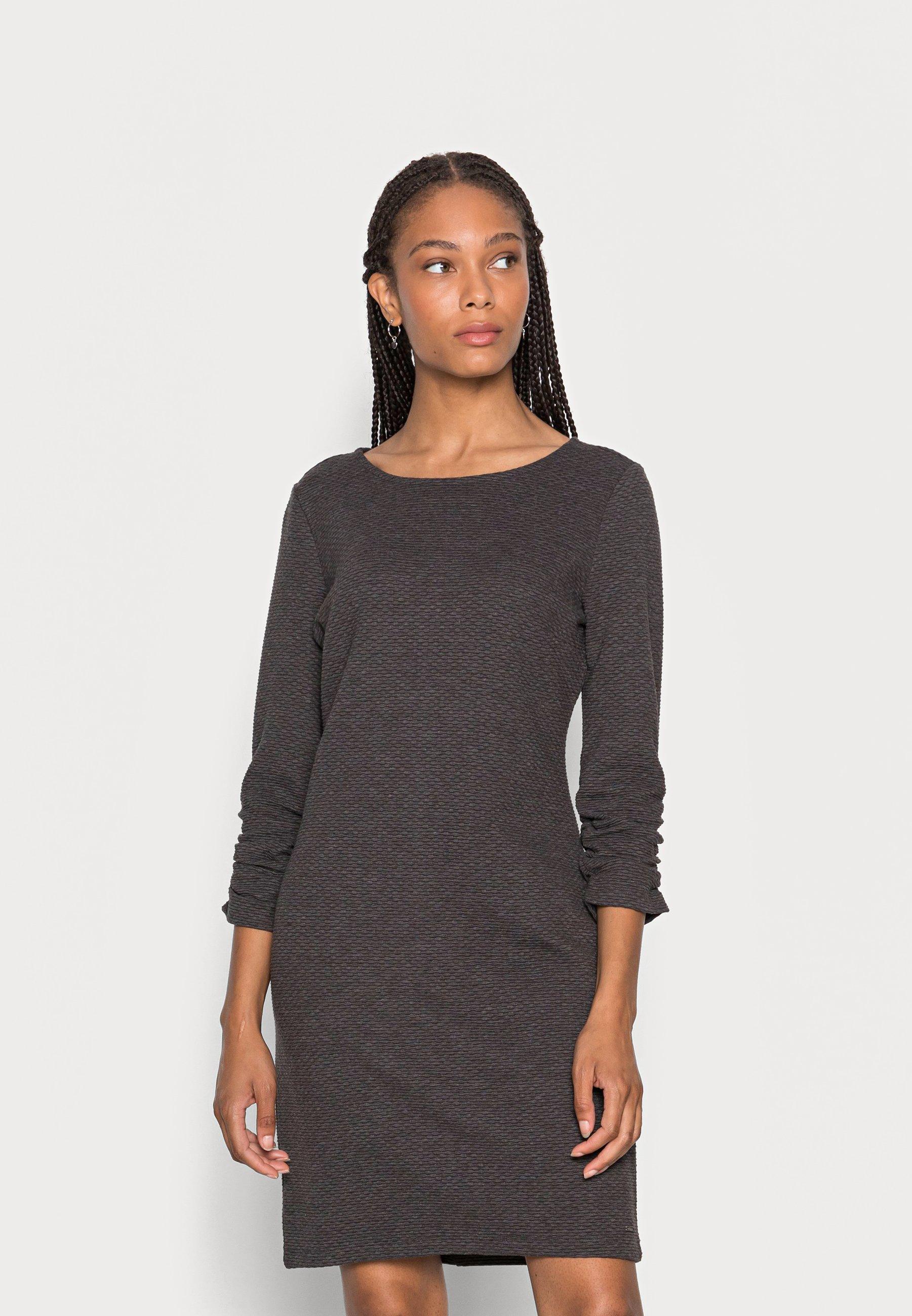 Damen DRESS WITH SLEEVE - Jerseykleid