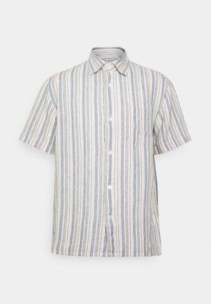 LINEN SHIRT - Overhemd - blue