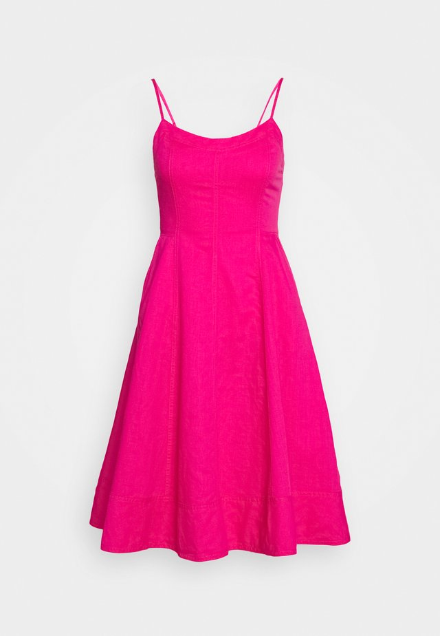 Day dress - fuschia