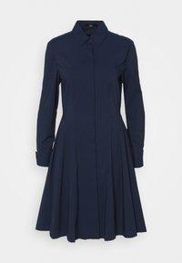 EXCLUSIVE BLOUSE DRESS - Košilové šaty - navy