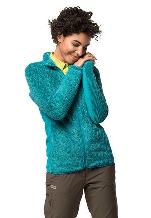 PINE LEAF - Fleece jacket - aquamarine