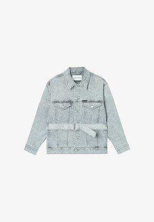 Giacca di jeans - denim grey