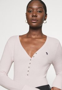 Abercrombie & Fitch - COZY HENLEY - Maglione - light pink - 3