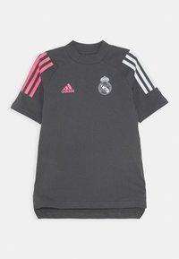 adidas Performance - REAL MADRID FOOTBALL SHORT SLEEVE - Klubové oblečení - grefiv - 0