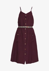 Ragwear - ANTOLIA DRESS - Day dress - plum - 5