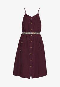 ANTOLIA DRESS - Day dress - plum