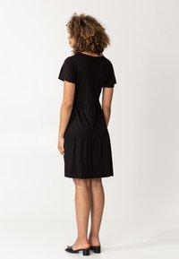 Indiska - HILMA - Jersey dress - black - 2