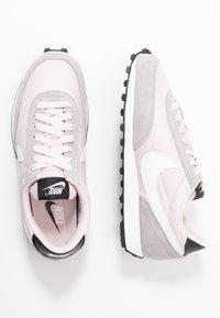 Nike Sportswear - DAYBREAK - Trainers - barely rose/white/silver/lilac/black/white - 3