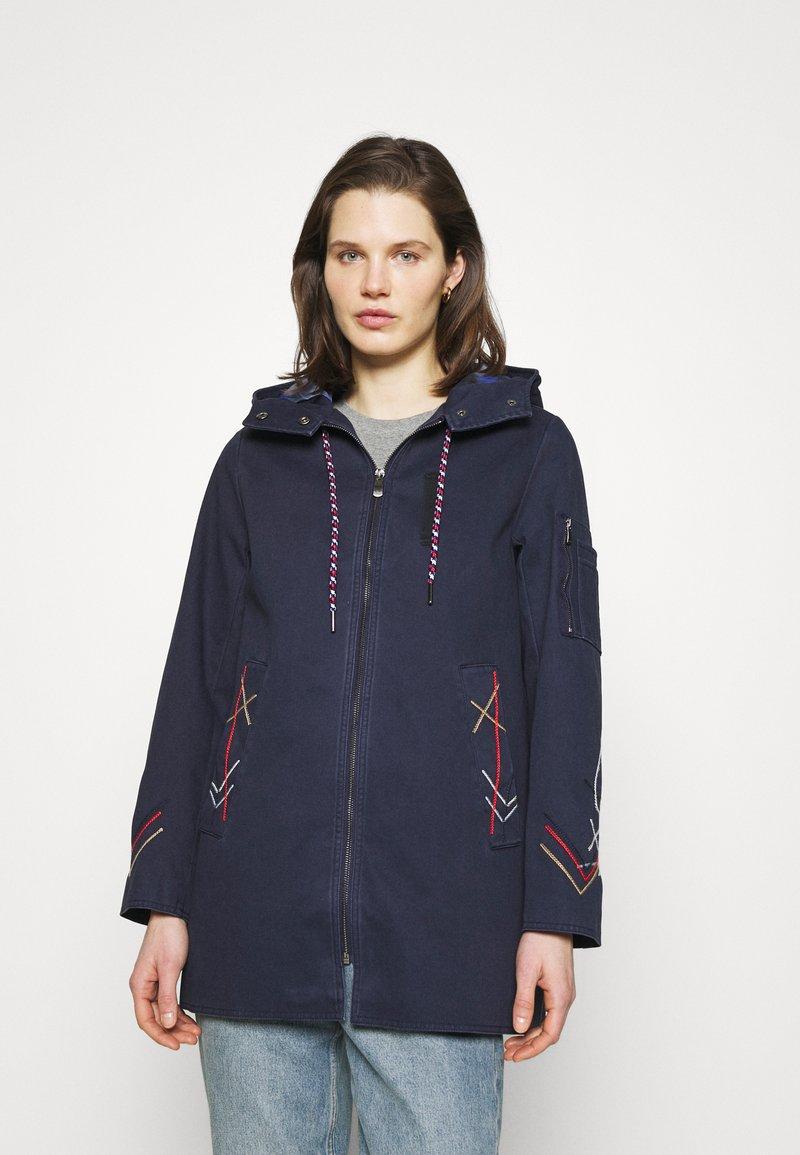 Desigual - ZADAR - Abrigo corto - blue