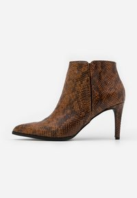 Vero Moda - VMLIZA  - High heeled ankle boots - cognac - 1