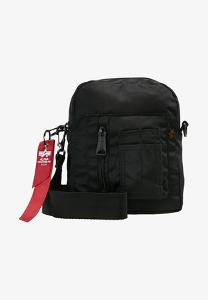CREW CARRY BAG - Across body bag - black