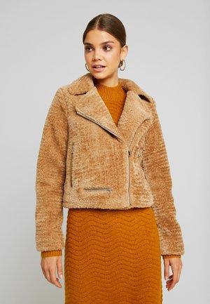 NANCY  - Zimní bunda - tobacco brown