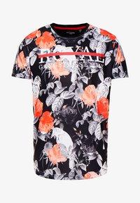 RAVEN - Print T-shirt - grey