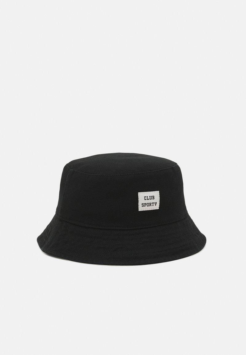 Gina Tricot - MINIBUCKET HAT UNISEX - Hat - washed black