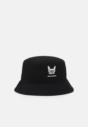 JACPLAIN DOG BUCKET HAT - Hatt - black