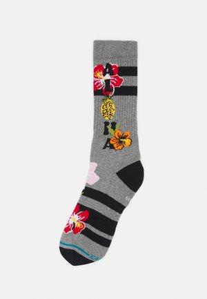 ALOHA HIBISCUS - Sokken - heather grey