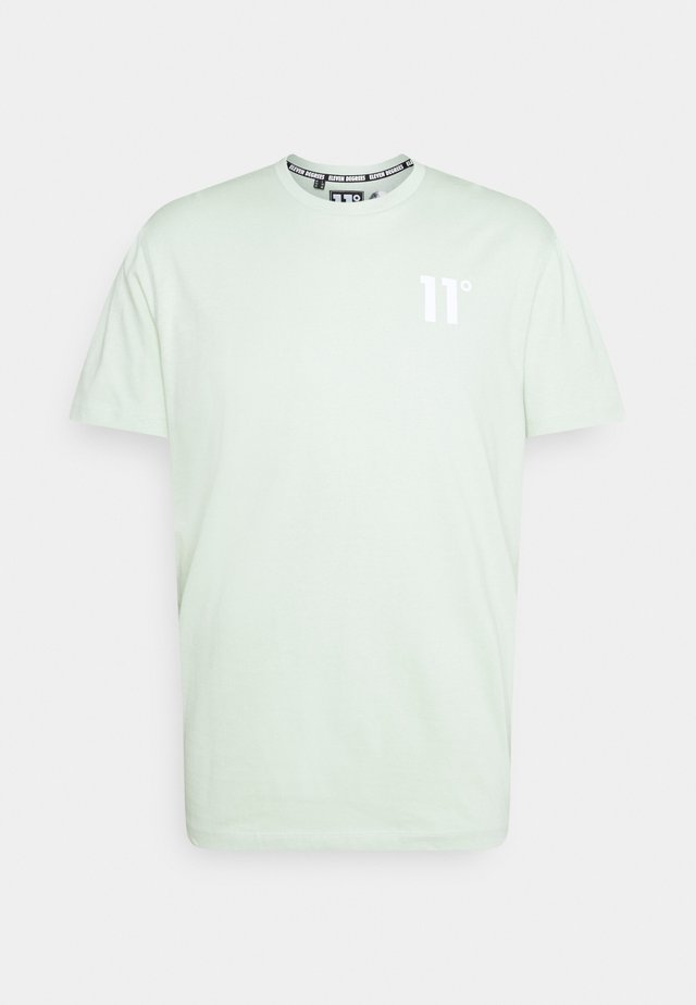 CORE  - T-shirt basic - fog green