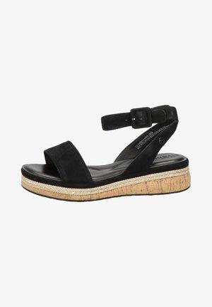 Platform sandals - zwart