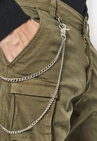 Redefined Rebel - Cargo trousers - dark olive - 2