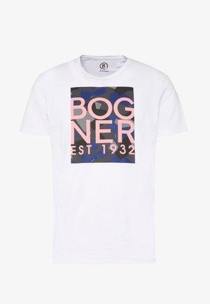 ROC - T-shirt z nadrukiem - white