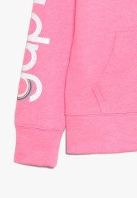 GAP - GIRLS - Zip-up hoodie - neon malibu pink - 2