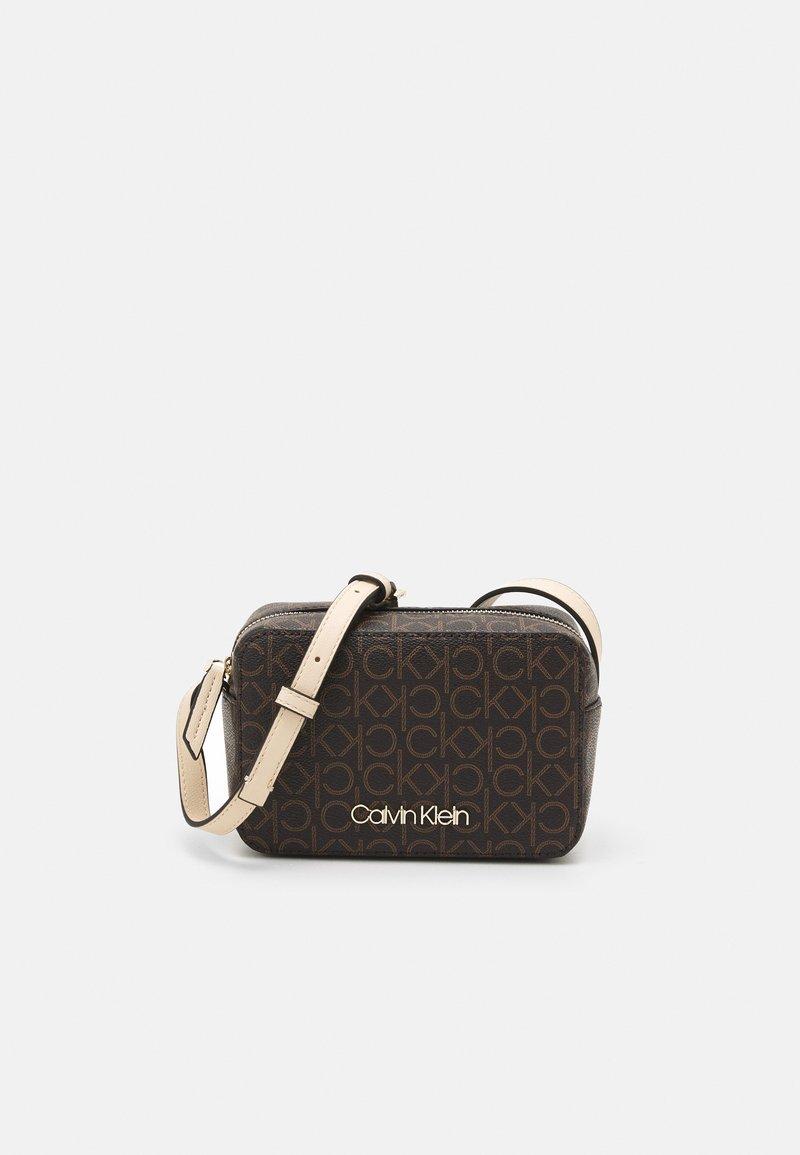 Calvin Klein - CAMERA BAG - Across body bag - brown