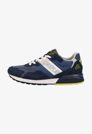 Trainers - navy lime
