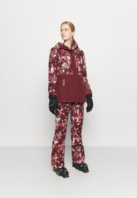 Roxy - ANDIE - Snowboard jacket - oxblood/red leopold - 1