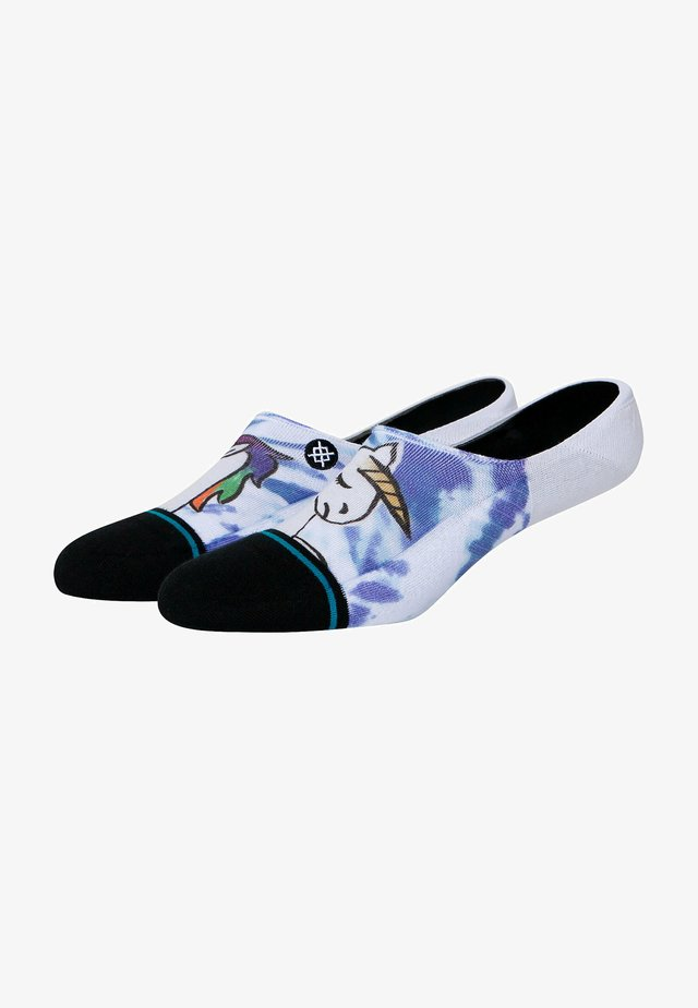 PARTYS OVER NO SHOW  - Trainer socks - white
