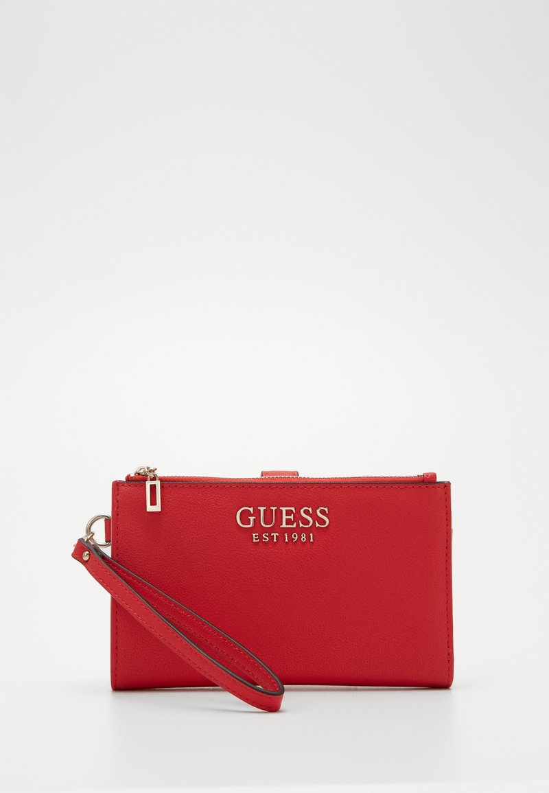 Guess - CHAIN ZIP ORGANIZER - Lommebok - red