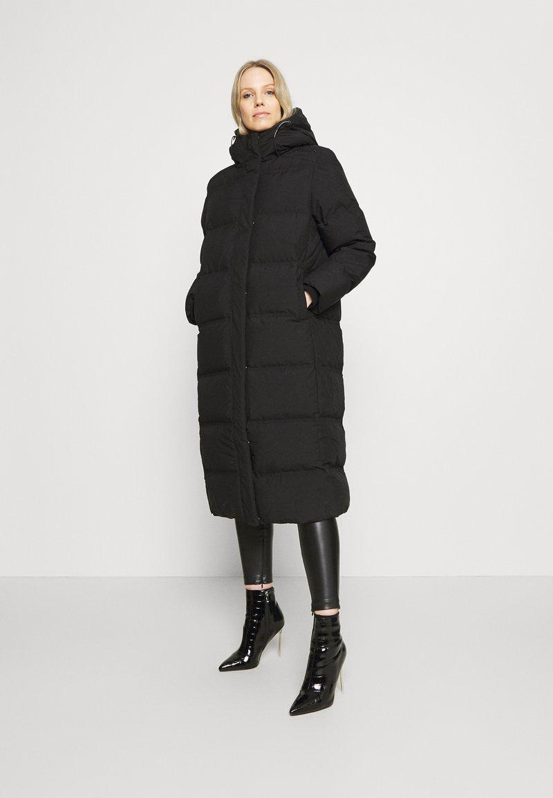 Guess - ADIVA JACKET - Down coat - jet black